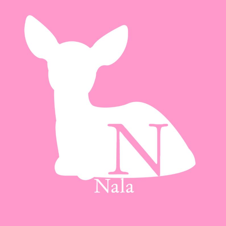 Geboortekaartjes - Deardeer meisje roze