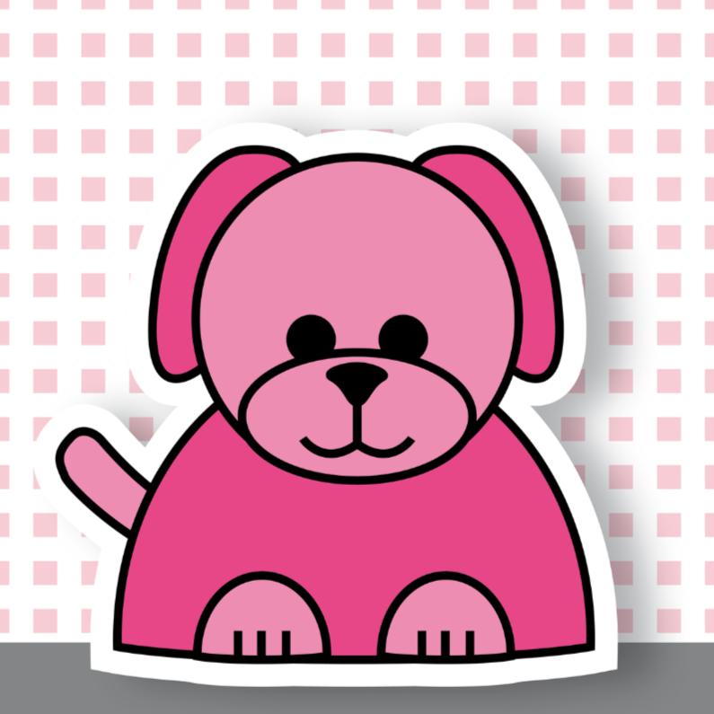 Geboortekaartjes - geboorte hond 02