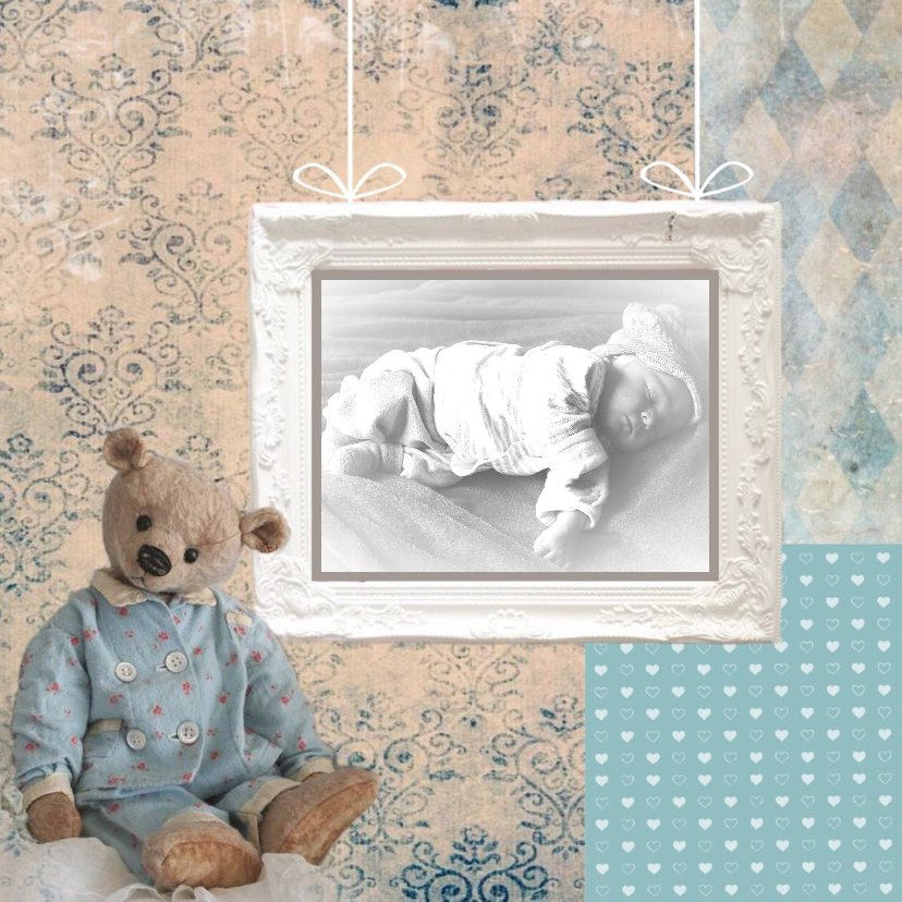 Geboortekaartjes - Geboortekaart MMJ1