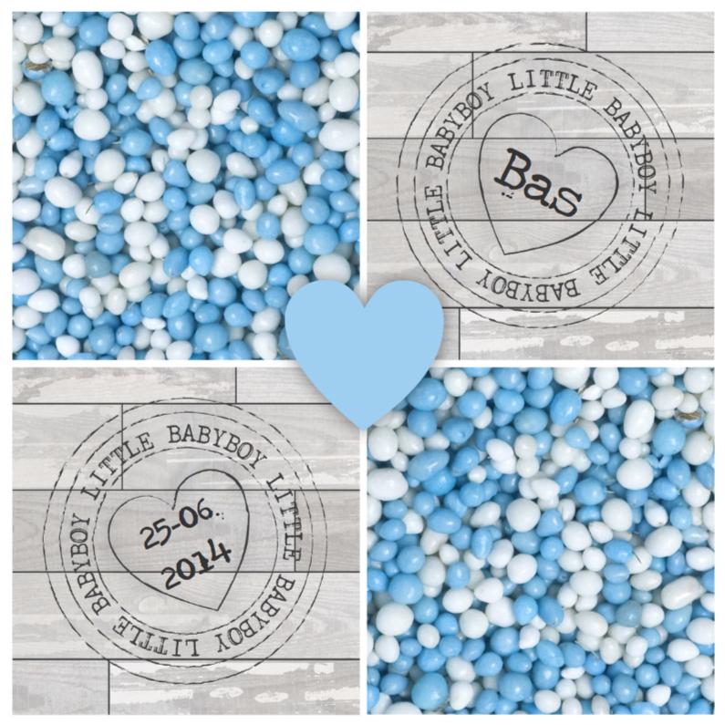 Geboortekaartjes - Geboortekaartje Blauwe Muisjes