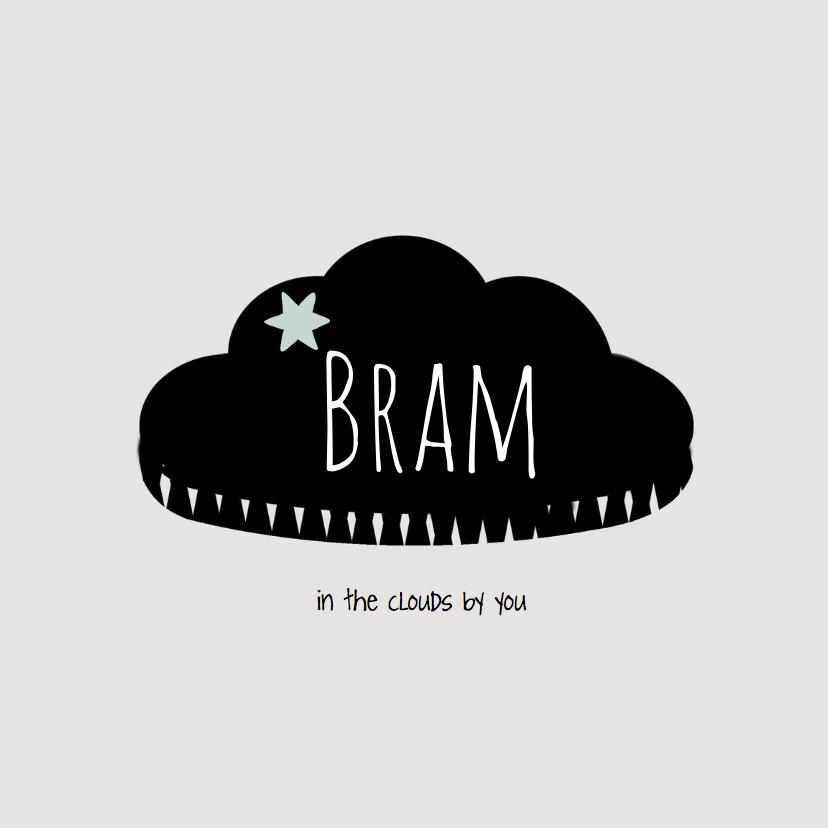 Geboortekaartjes - Geboortekaartje Bram - LO
