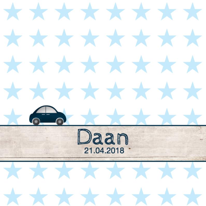 Geboortekaartjes - Geboortekaartje jongen Daan