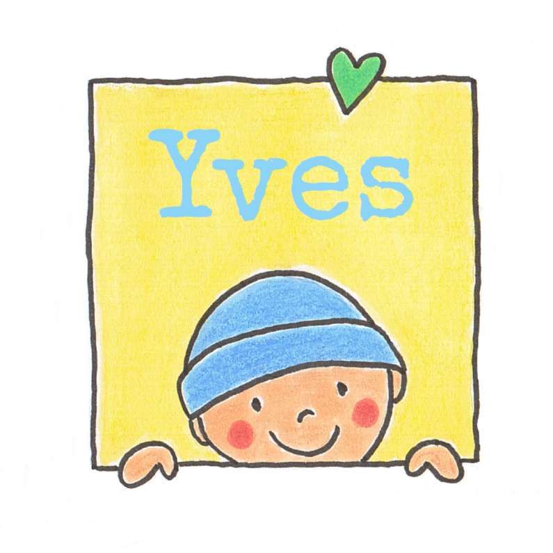 Geboortekaartjes - Geboortekaartje jongen muts hart