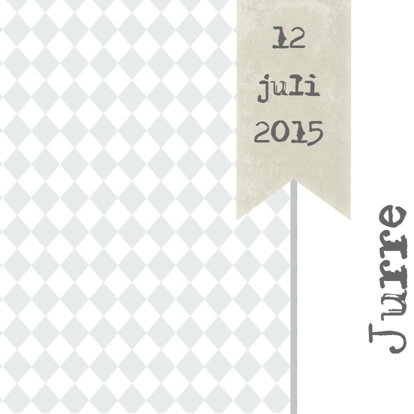Geboortekaartjes - Geboortekaartje Jurre