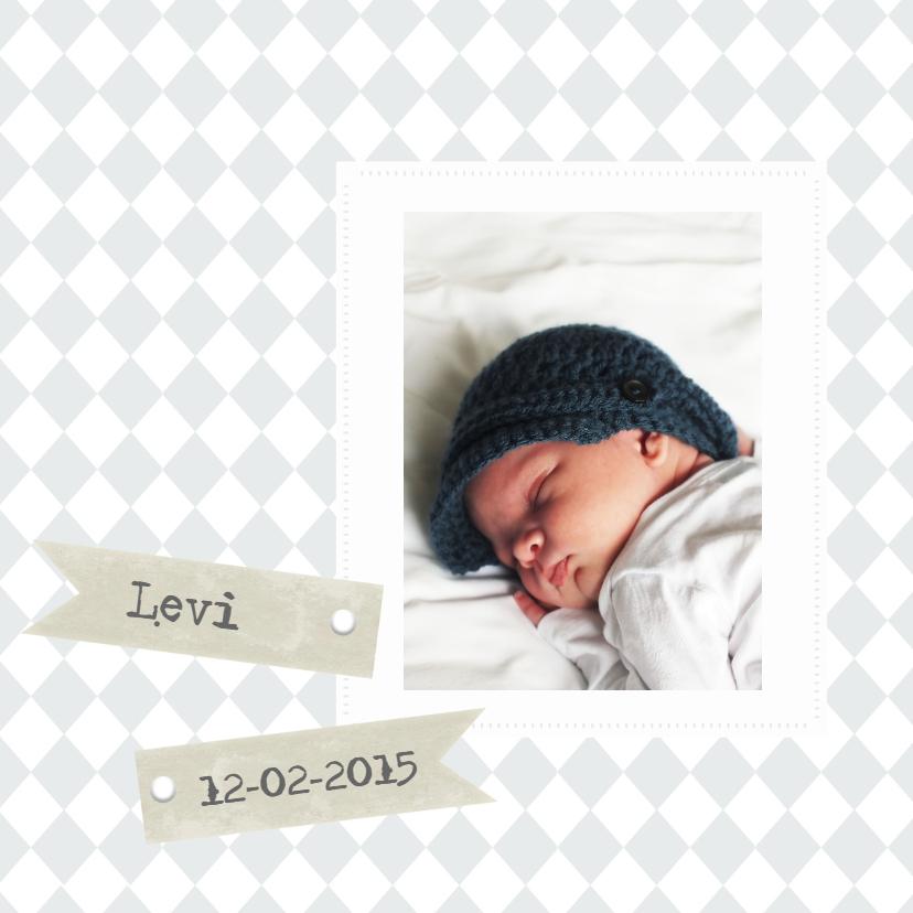 Geboortekaartjes - Geboortekaartje Levi