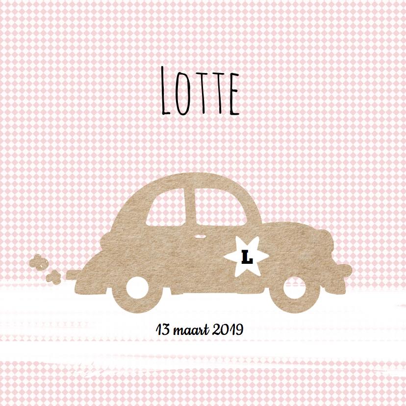 Geboortekaartjes - Geboortekaartje Lotte - LO