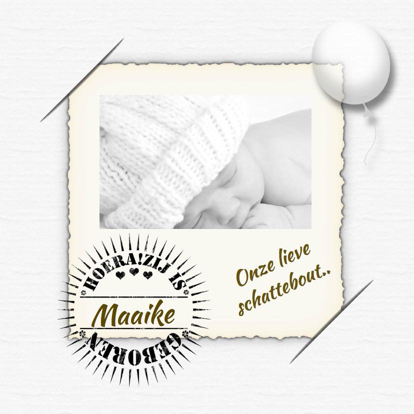 Geboortekaartjes - Geboortekaartje meisje dromen