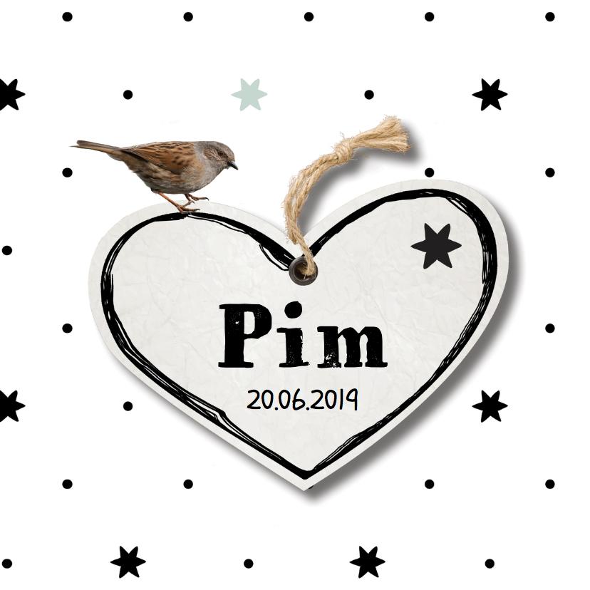 Geboortekaartjes - Geboortekaartje Pim - LO