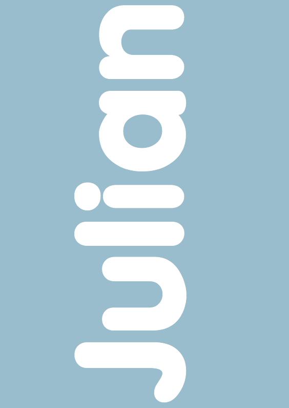 Geboortekaartjes - Geboortekaartje Typografie sterJ