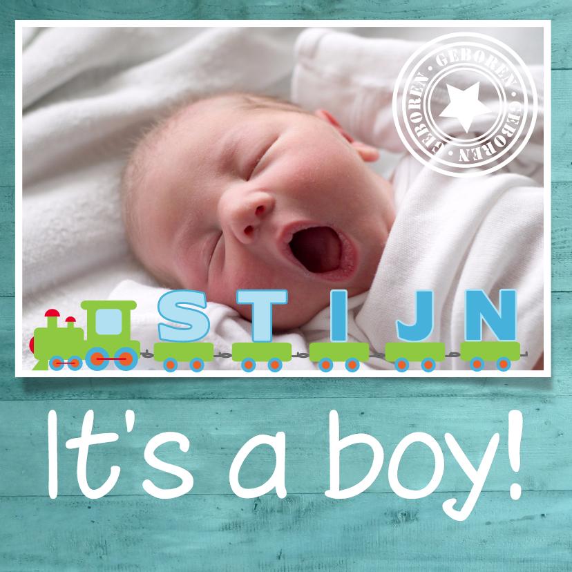 Geboortekaartjes - It's a boy - Remco