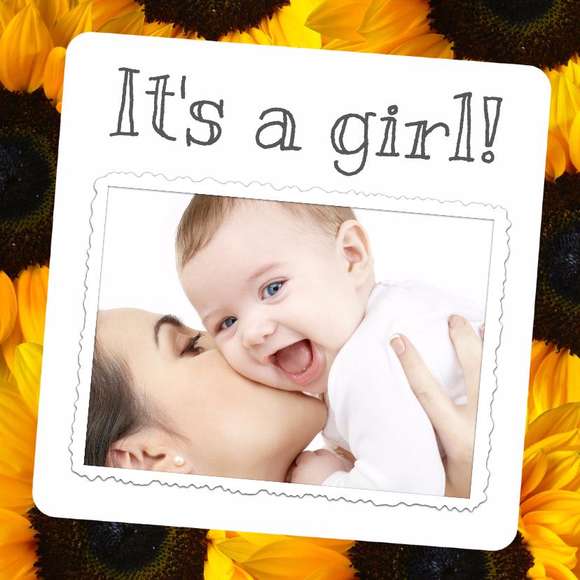 Geboortekaartjes - It's a girl! - BK