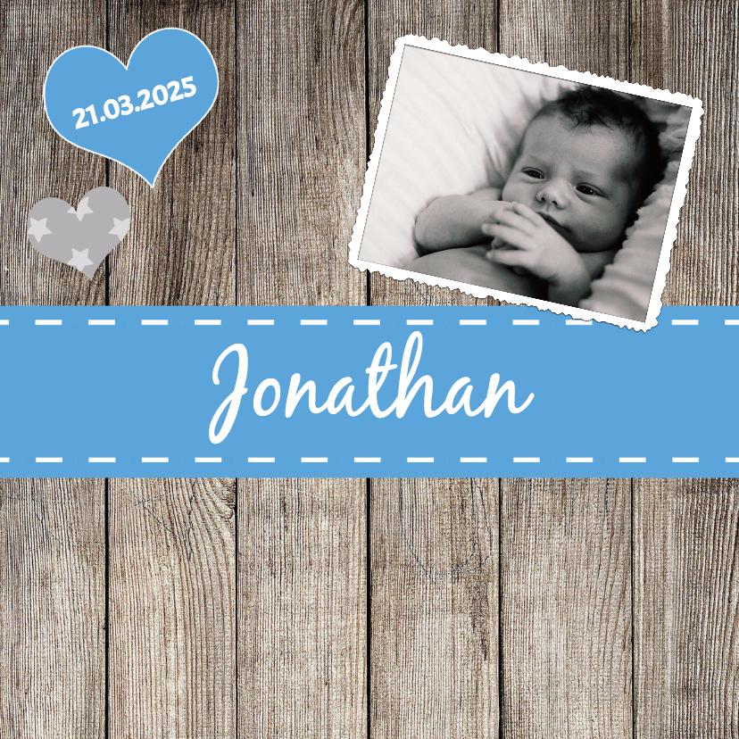 Geboortekaartjes - Lief geboortekaartje - DH