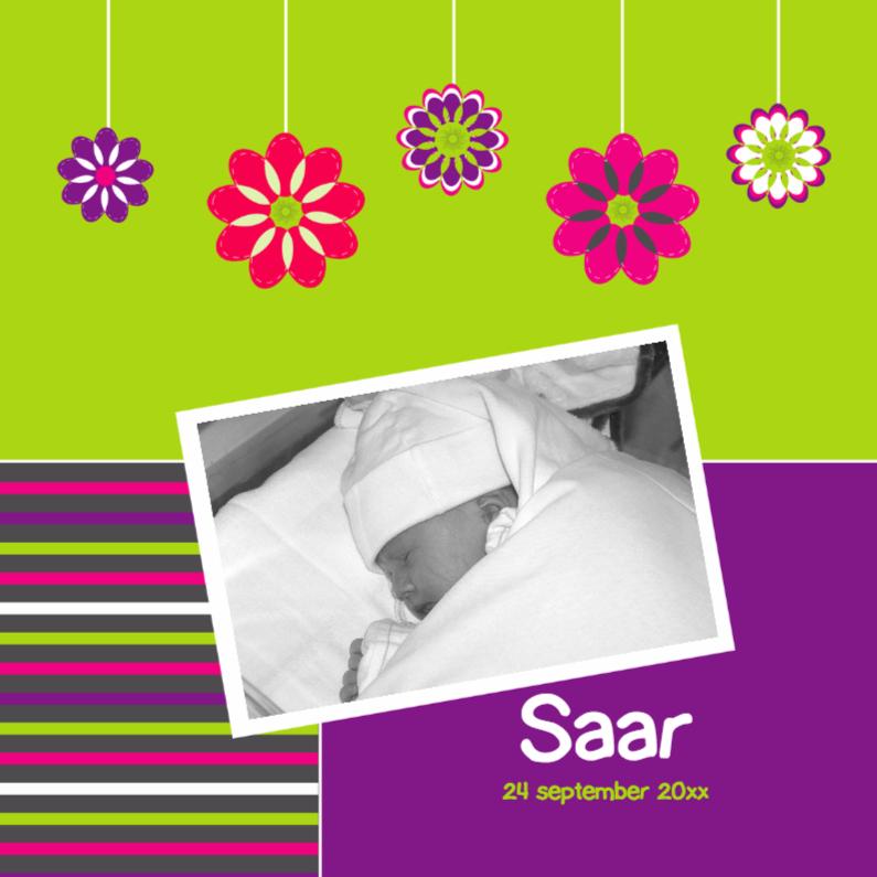 Geboortekaartjes - Vrolijk met eigen foto