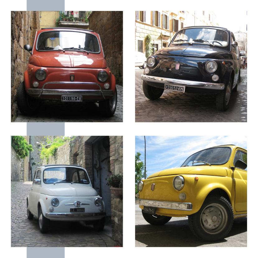 Geslaagd kaarten - Fiat auto rijbewijs gefeliciteerd