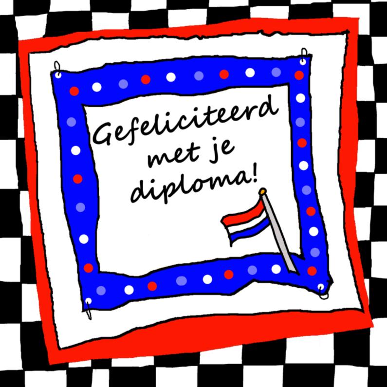 Geslaagd kaarten - Gefeliciteerd met je diploma CYL