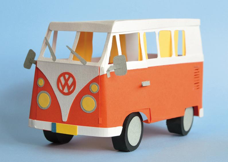 Zomaar kaarten - Volkswagenbusje