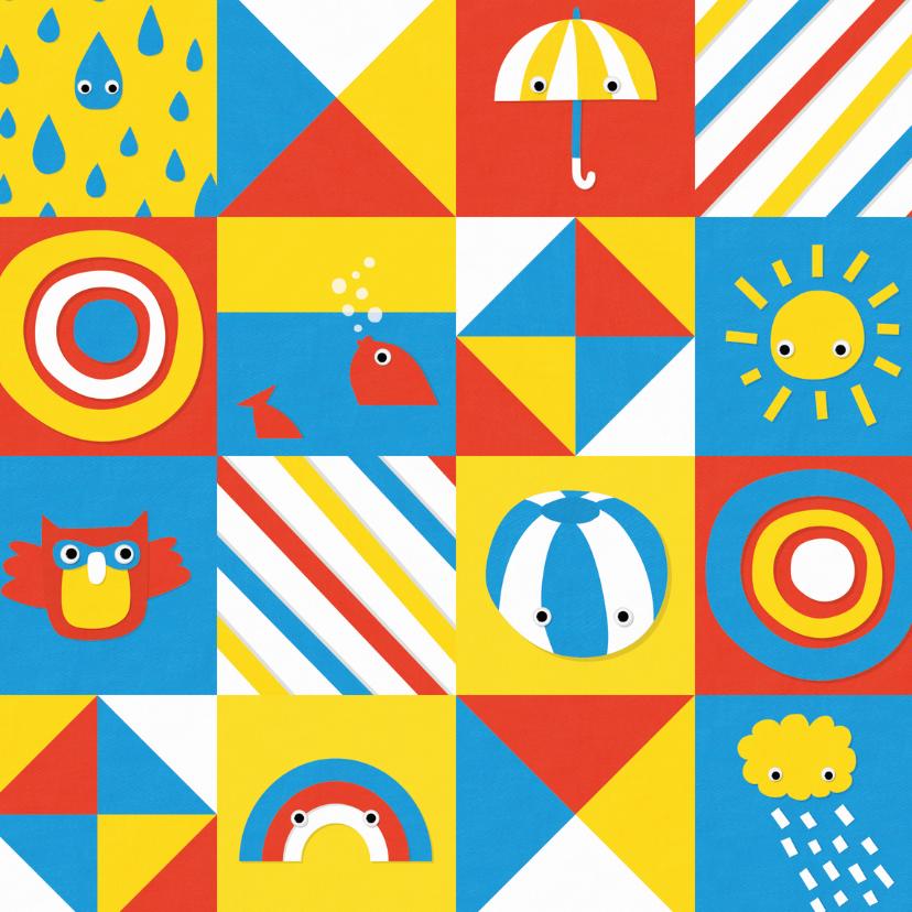 Geslaagd kaarten - Zwemdiploma zomer