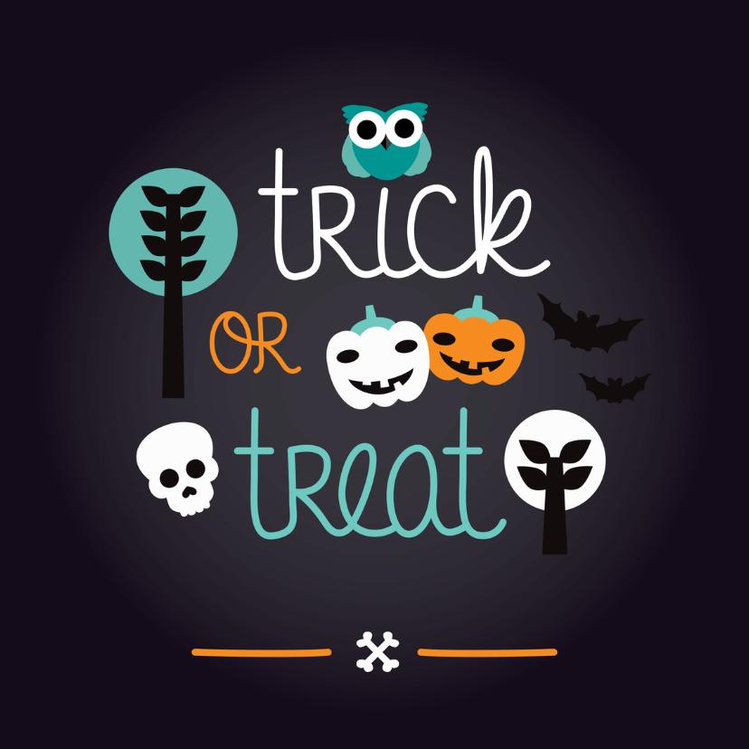 Halloween kaarten - Halloween verjaardag uitnodiging