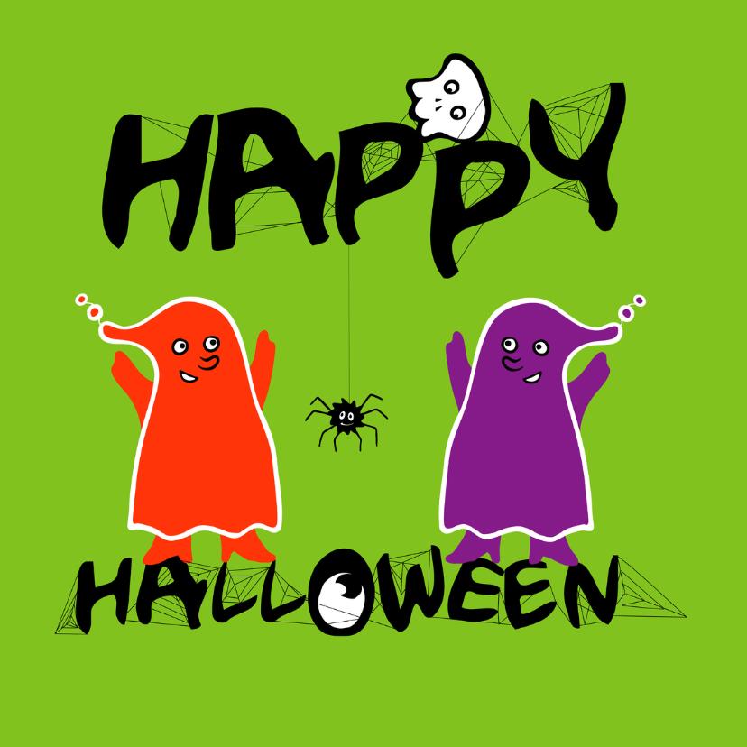Halloween kaarten - Happy halloween kaart -IR