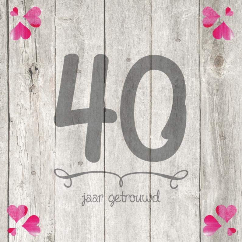 Bedankjes Verjaardag 40 Jaar