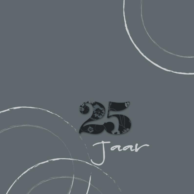 Jubileumkaarten - Chique en modern