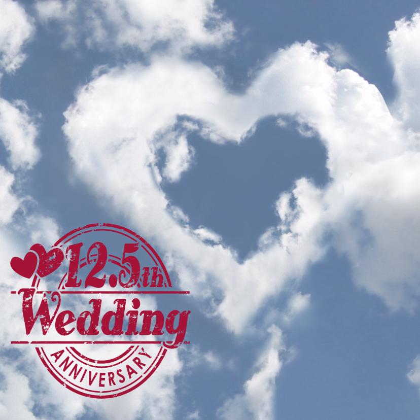 Jubileumkaarten - Felicitatie huwelijksjubileum