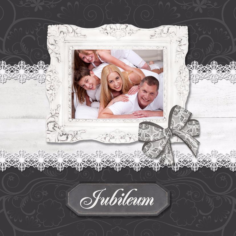 Jubileumkaarten - Hout met Label Jubileum - BK