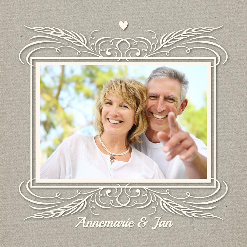 Jubileumkaarten - Huwelijksjubileum 12,5 jaar - SG