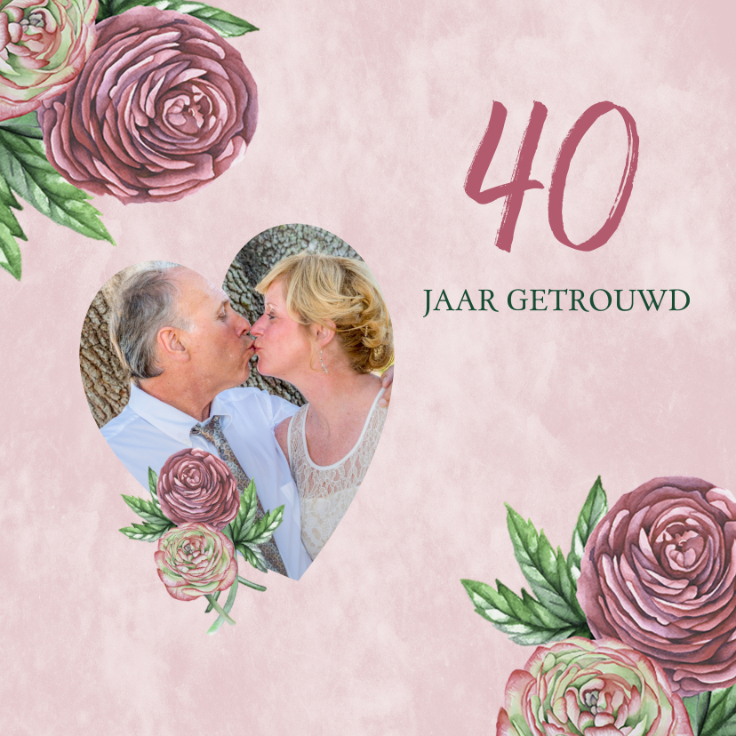 Jubileumkaarten - Huwelijksjubileum ranonkels