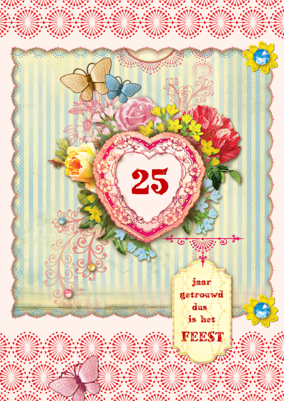 Uitnodigingen - Huwelijksjubileum scrapbook 2