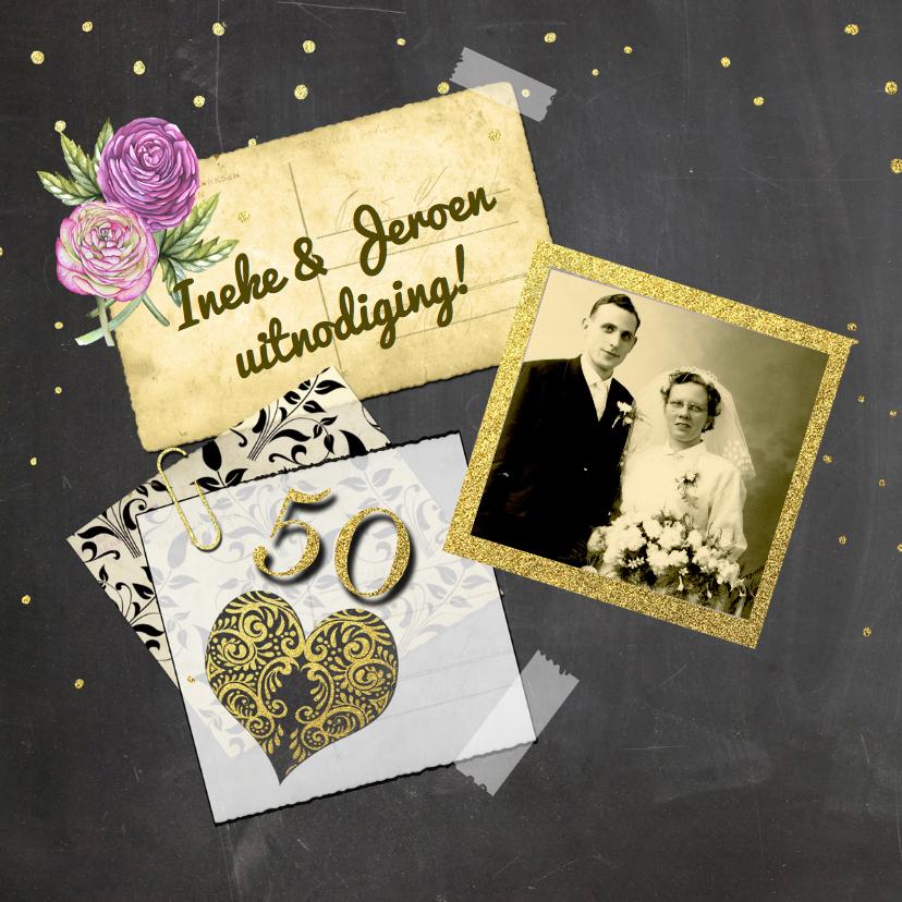 Jubileumkaarten - Huwelijksjubileum vijftig