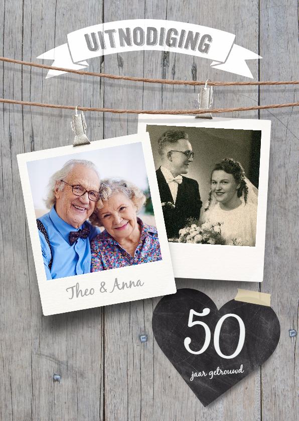 Jubileumkaarten - Jubileumkaart 50 jaar