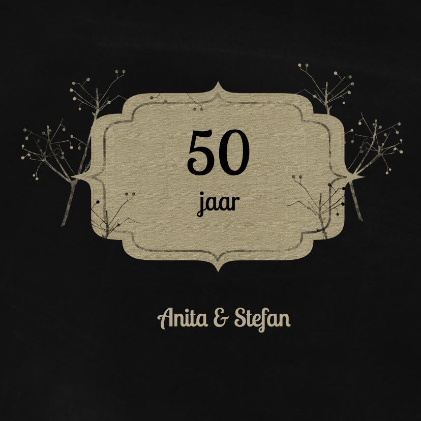Jubileumkaarten - Jubileumkaarten 50 jaar - YO