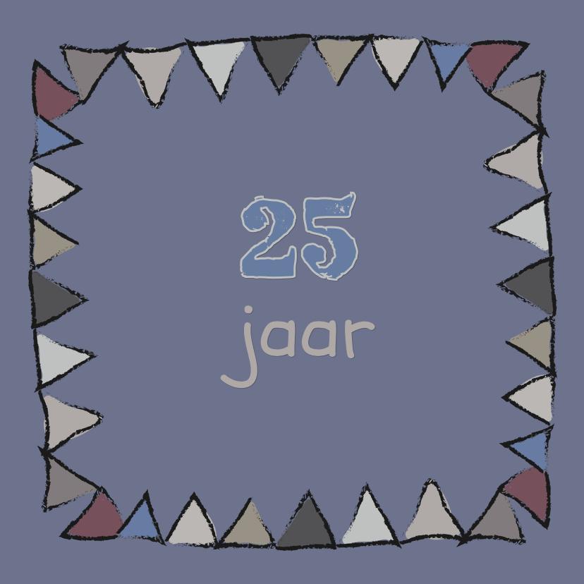 Jubileumkaarten - Jubileumkaarten  Vlaggetjes
