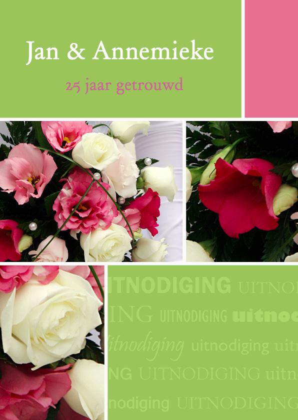 Uitnodigingen - Uitnodiging huwelijksjubileum
