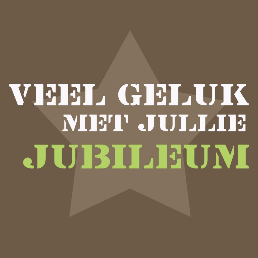 Jubileumkaarten - Veel geluk met jullie jubileum