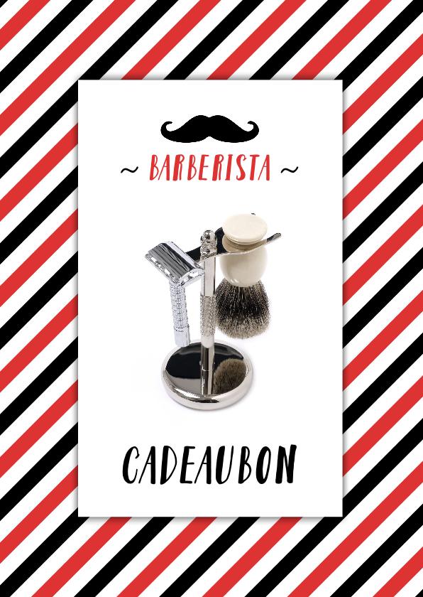 Kaarten mailing - Cadeaubon zakelijk zzp barbershop