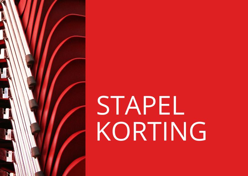 Kaarten mailing - sale - stapelkorting