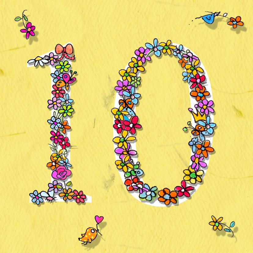 10 jaar bloemen 1