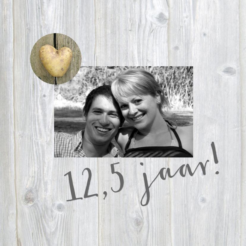 12,5 jaar met aardappel hartje 2