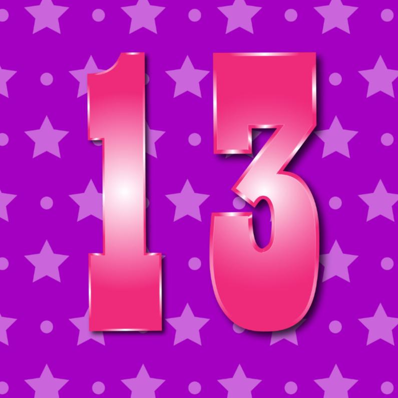 13 jaar 1
