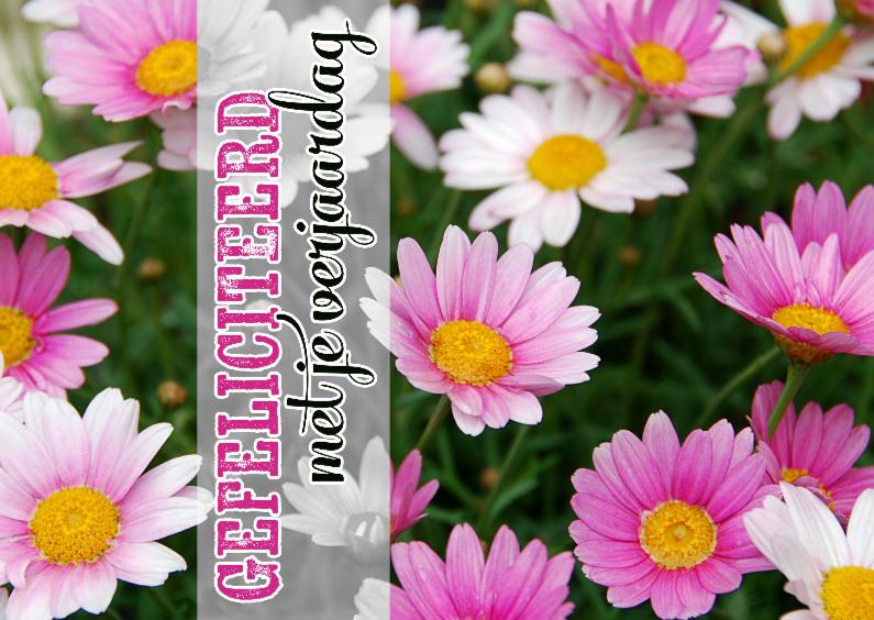 15271 Verjaardagskaart bloemen 1