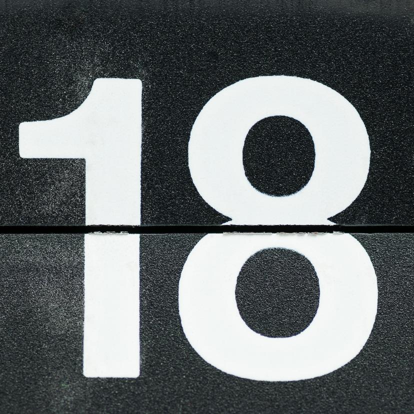 18 van omklapcijfers 1