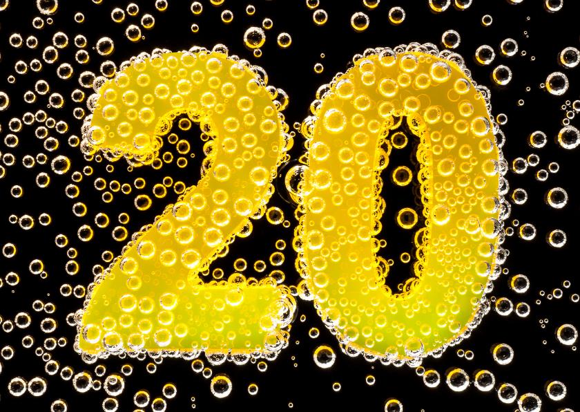 20 in feestelijke champagne 1