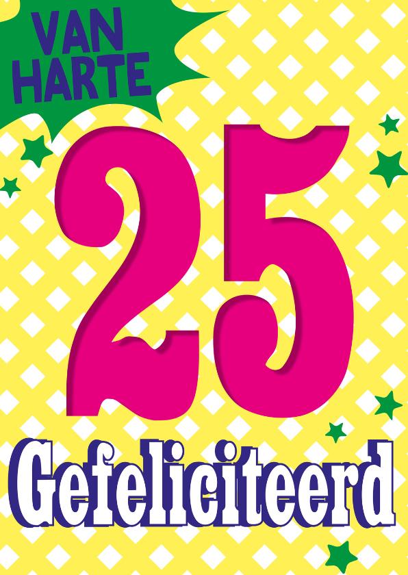 25 jaar gefeliciteerd -BF 1