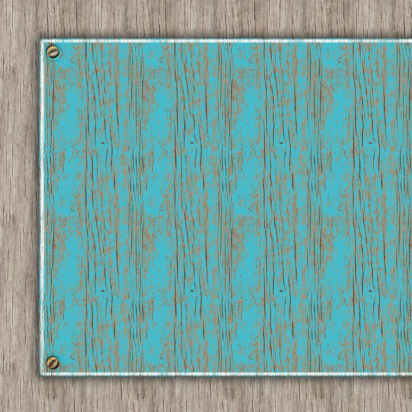 25 Jaar old wood - blauw 2