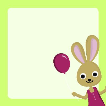 3 jaar verjaardag konijn 3