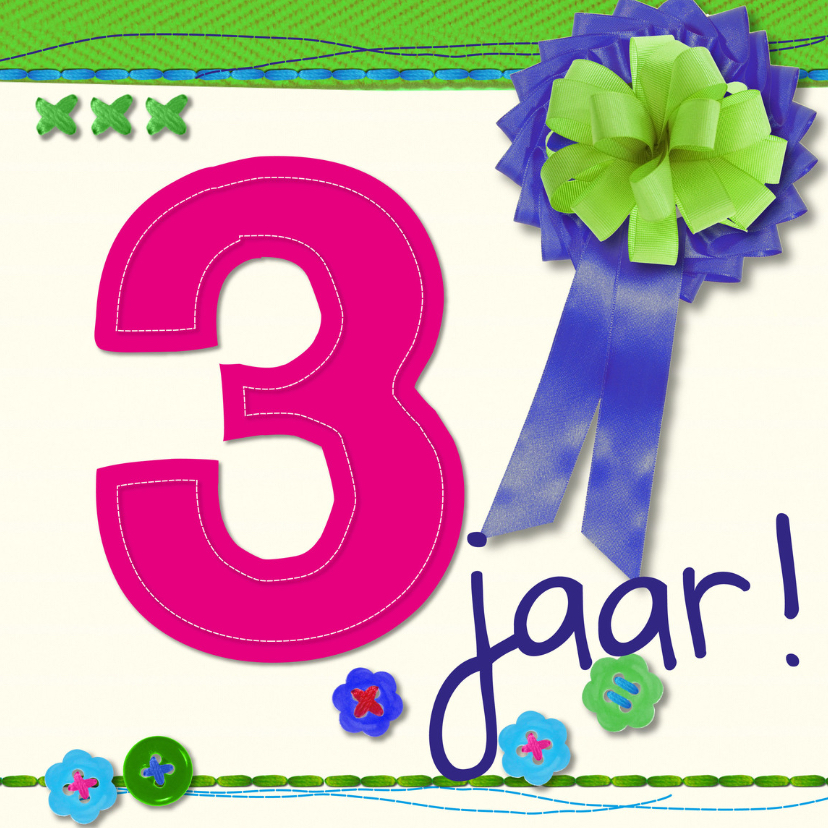 3 jaarverjaardag -BF 1