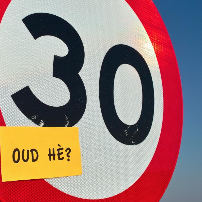 30 Jaar Oud he