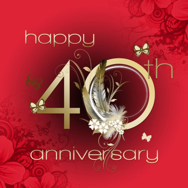 40 Jaar Huwelijk